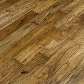 "5"" Hand Scraped Natural Acacia Flooring"