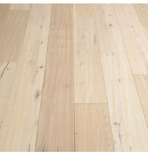 Hand Scraped Oil Finished Andora White Oak Flooring