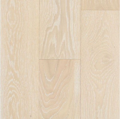 Wire Brushed Ivory White Oak 5""