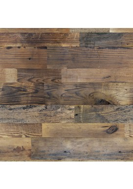 Reclaimed Natural Pine Walling