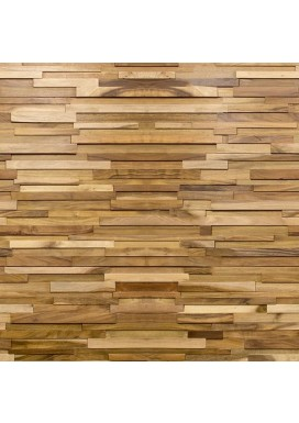 "3D Stacked Oil Finished Natural Acacia 7.5"" Walling"