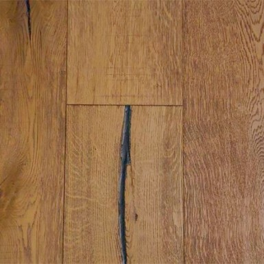 Wire Brushed Atropos White Oak 7.5""