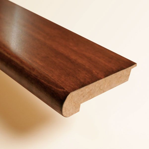 Hand Scraped Chocolate Hickory Stair Nose Hardwood Bargains